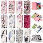 9 Card Fashion Printed Magnetic Flip PU Leather Wallet Case Soft Cover For Phone