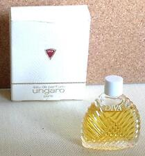 Miniature de parfum Diva d'Ungaro (EDP) 4,5ml plein avec boite