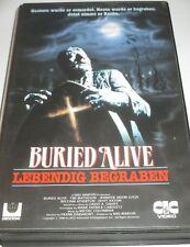 Buried Alive - lebendig begraben - VHS/Horror/Tim Matheson/JenniferJ Leigh/CIC