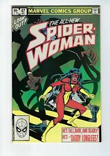 SPIDER-WOMAN # 47 (All New Spider-Woman, DEC 1982), NM-