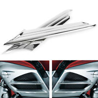 Side Fairing Fins Scoop Accents Trim Cover for Honda Goldwing GL1800 2012 - 2017