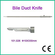 New Bile Duct Knife ø10x330mm Laparoscopy CE Approved Endoscopic Instrument