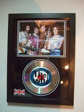 THE WHO   SIGNED  GOLD CD  DISC   938
