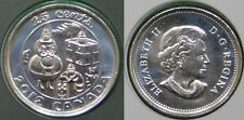 2012 Canada Christmas Quarter Sealed in Cellophane