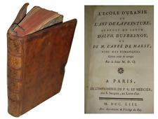 Abbé Marsy : L'Ecole d'Uranie Dufresnoy - De arte Graphicas - De Piles ... 1753