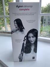 Dyson Airwrap Complete hair styler in black/purple