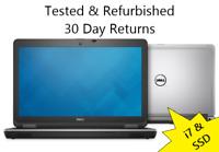 (W/ DOCK!) Dell Latitude E6540 i7-4810 256GB SSD 8GB RAM + AMD Graphics