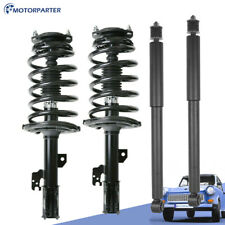 Front + Rear Struts Shock W/ Spring Assy For 2004-2010 Toyota Sienna 3.5L