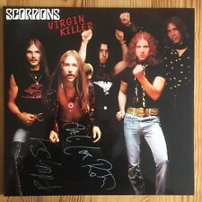 Scorpions Virgin Killer autógrafo signed LP-Cover