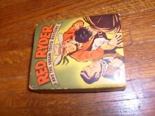 RED RYDER & THE SQUAW-TOOTH RUSTLERS, vintage BIG LITTLE BOOK