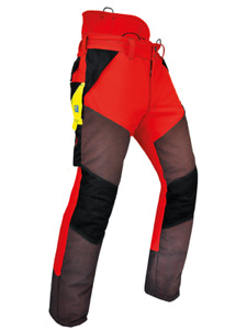 Pfanner Gladiator Extrem Schnittschutzhose Farbe rot