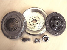 FOR A4 A6 PASSAT 1.9 TDi DUAL TO SOLID MASS FLYWHEEL CLUTCH DISC BEARING KIT