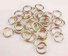NICKEL SILVER JUMP RING 20GA.WIRE I/D 2MM  205 PCS 1/4 OZ SAW-CUT MADE IN USA
