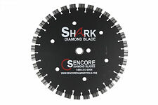 The Shark Diamond Saw Blade 16' x .125 x 1'-20mm (12mm segment) + Free Shipping