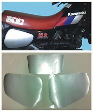 Tabelle Kawasaki KLR 600 dal1984 Argento - adesivi/adhesives/stickers/decal