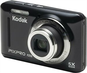 Kodak PIXPRO Friendly Zoom FZ53-BK 16MP Digital Camera (Black)