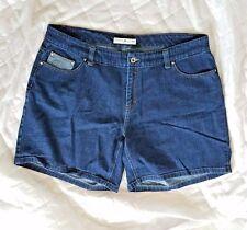 Womens Tommy Hilfiger Denim Shorts Sz 18 Jean Dark Blue PLUS