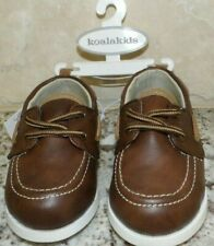 KOALA KIDS BROWN LACE LOAFERS DRESS SHOES - TODDLER BOY'S - SIZE 4 - NEW