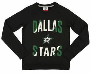 Outerstuff NHL Youth/Kids Dallas Stars Performance Fleece Crew Neck Sweatshirt