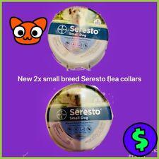 2x seresto small dog flea collar ‼�