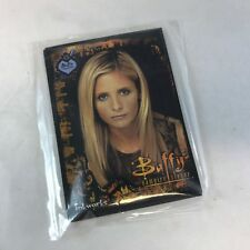 "PROMO CARD SET: BUFFY THE VAMPIRE SLAYER SDCC SEALED ""FAN CLUB"" CARD SET (4)"