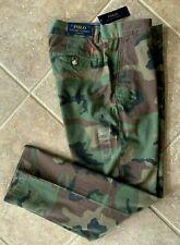 Polo Ralph Lauren Chino Pants Mens 40 x 32 Camo Military Classic Fit w/Pony NWT