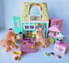 My Little Pony G3 Bloomin' Blossoms Shop Flea Market Farm Stand Play set Hasbro