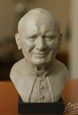 POPE JOHN PAUL II BUST -- Statue Figure Papa Juan Pablo Sculpture Prop -- UNIQUE