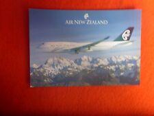 AIR NEW ZEALAND AIRLINES BOEING 747-400 POSTCARD  ZK-NBT UNUSED AUSTRALEX