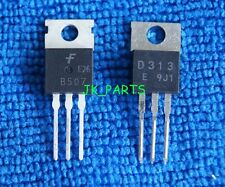 5pairs(10pcs) 2SB507 + 2SD313 B507 + D313 TRANSISTOR TO-220