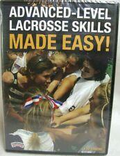 Advanced Level Lacrosse Skills Made Easy Dvd Kim Simons Championship Productions