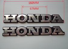 Calcomanía De Insignias De Tanque Para Honda EMBLEM BADGE Super Sport CB CB550 CB650 CB750 Plateado