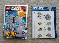 LEGO Star Wars - Rare - 911615 AT-AT foil pack set w/ Instructions