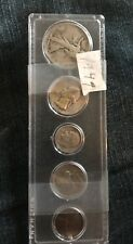 1947  FIVE COIN SET~ CIRCULATED  ~NICE~
