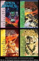 Open Space 1 2 3 4 Complete Set Run Lot 1-4 VF/NM