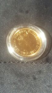 2020 Double Sovereign.Superb condition, coin in clear plastic case.