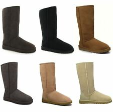 UGG Australia Pull On 100% Leather Upper Boots for Women