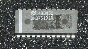 NS DM87S191 256x8 TTL PROM chip DIP24