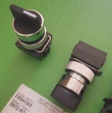 Selector CONMUTADOR 3 posiciones 22.5mm Resorte Retorno 1 Lado De Arranque Estilo ER541500
