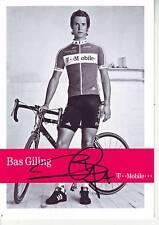 CYCLISME carte cycliste BAS GILING équipe T MOBILE  signée