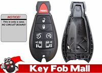 NEW Keyless Entry Key Fob Remote CASE ONLY 7BTN For a 2013 Dodge Grand Caravan