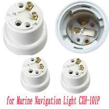 P28S Lamp Holder Socket Base Kits 4A 250V for Marine Navigation Light CXH-101P