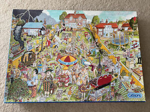 Gibsons Puzzle 1000 Piece Jigsaw The Great British BBQ Dick Bogie