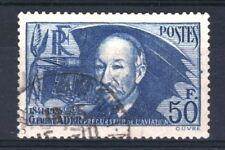 """FRANCE STAMP TIMBRE YVERT 398 """" CLEMENT ADER 50F OUTREMER """" OBLITERE TB  R863"""