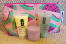 CLINIQUE Bundle DDML Moisturiser Facial Soap Cleanser Cleansing Balm Bag NEW £16