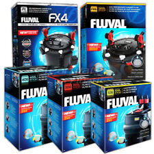 FLUVAL 106 206 306 406 FX4 FX6 EXTERNAL POWER FILTER INCLUDING MEDIA FISH TANK