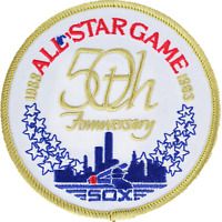 1983 MLB All Star Game In Chicago IL White Sox Comiskey Park Jersey Logo Patch