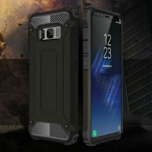 For Samsung Galaxy S9 S8 S7 Edge Plus Note 9  Hybrid Rugged Armor Case Cover