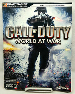 CALL OF DUTY WORLD AT WAR BRADY GAMES SIGNATURE STRATEGY GUIDE PLAYER BOOK