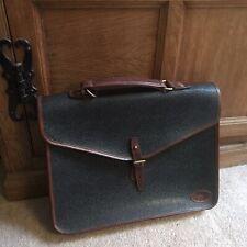 Fabulous Vintage Mulberry Briefcase/Satchel Business Antique Bag Smart Satchel